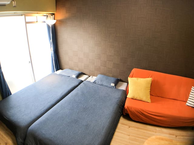 ☆Near Namba(5mins by train)☆Free WIFI☆405☆
