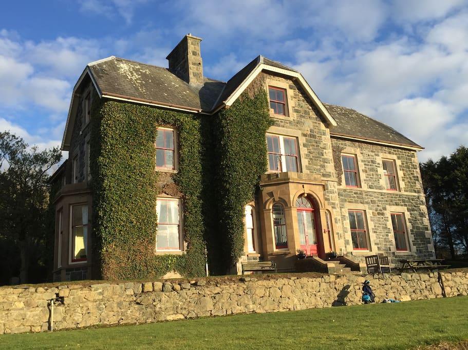 Tymawr Family County House Snowdonia Near Tywywn Houses