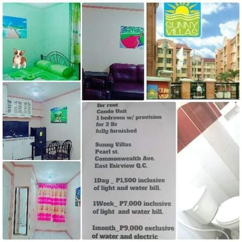 Cheap fully furnished with 1 bedroom condo