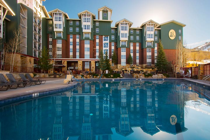 Ski-in/out at Marriott's Mountainside