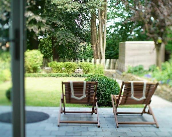 Apt 2/4p: 'Au26 - côté jardin' with private garden