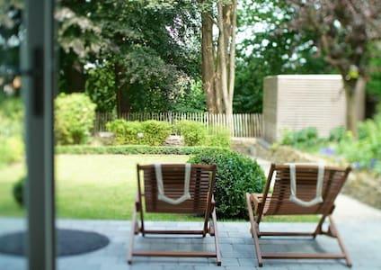 côté jardin @au26 - flat w/ garden (easy parking)