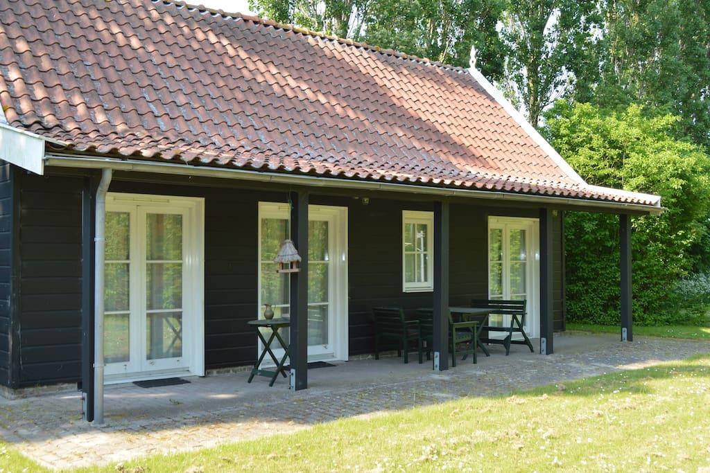 huis met veranda