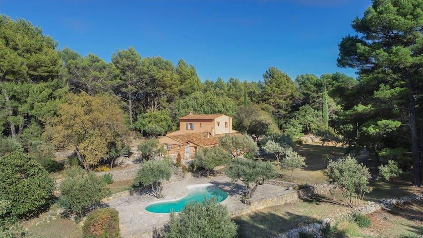 Villa Tourmarin, in the heart of nature