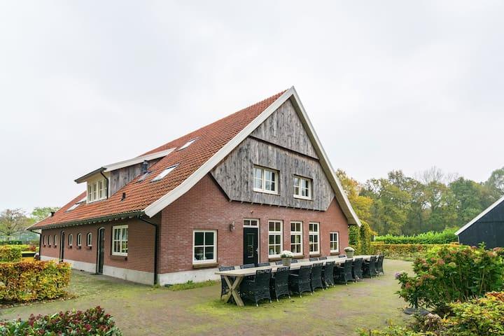 Luxury Farmhouse near Forest in Dinkelland