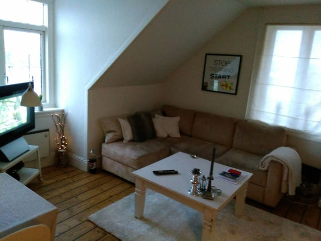 Wonderful town house apartment! - Frederikssund - Leilighet