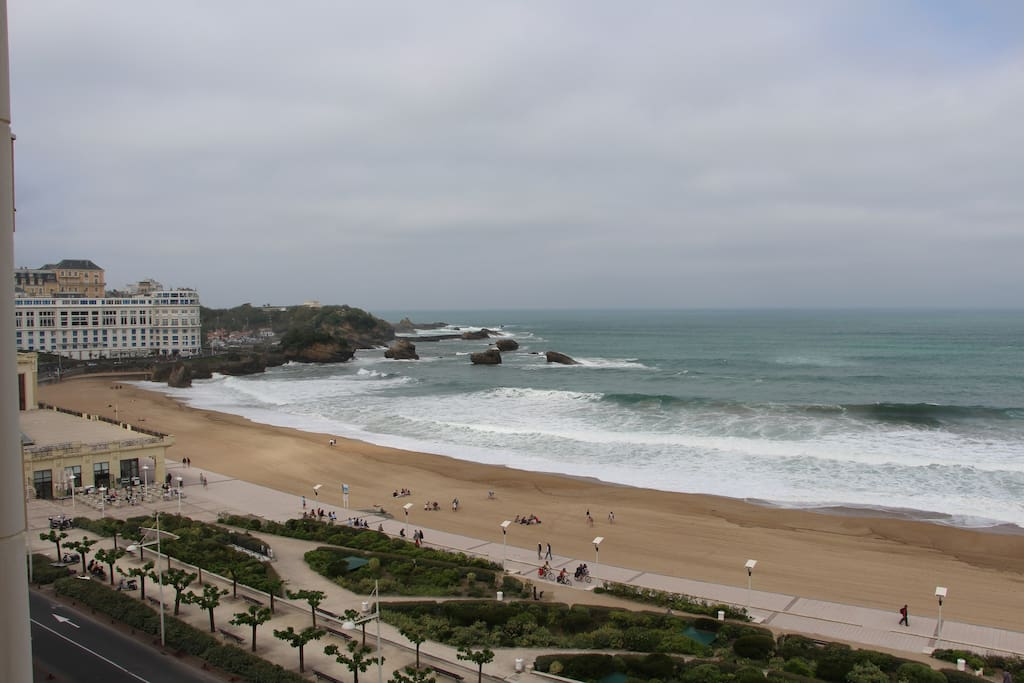 La grande plage.