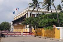 French Consulate near the Rock Beach