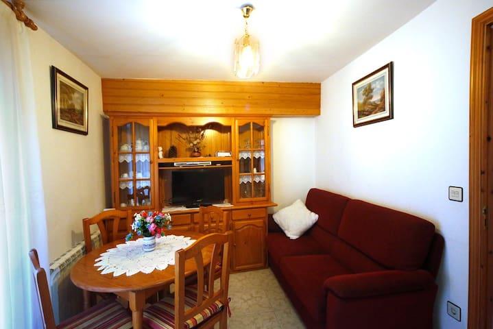 Apartamento de 2-4 plazas en Laspuña (segundo piso