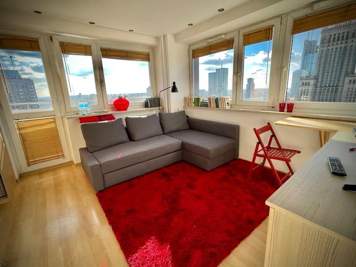 Super Apartament RED Centrum WiFi Best View Metro