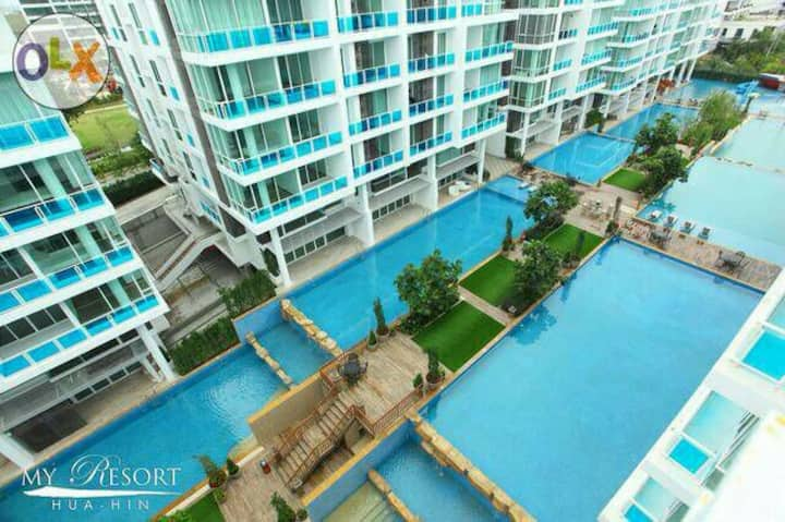Myresort Condo for family at huahin