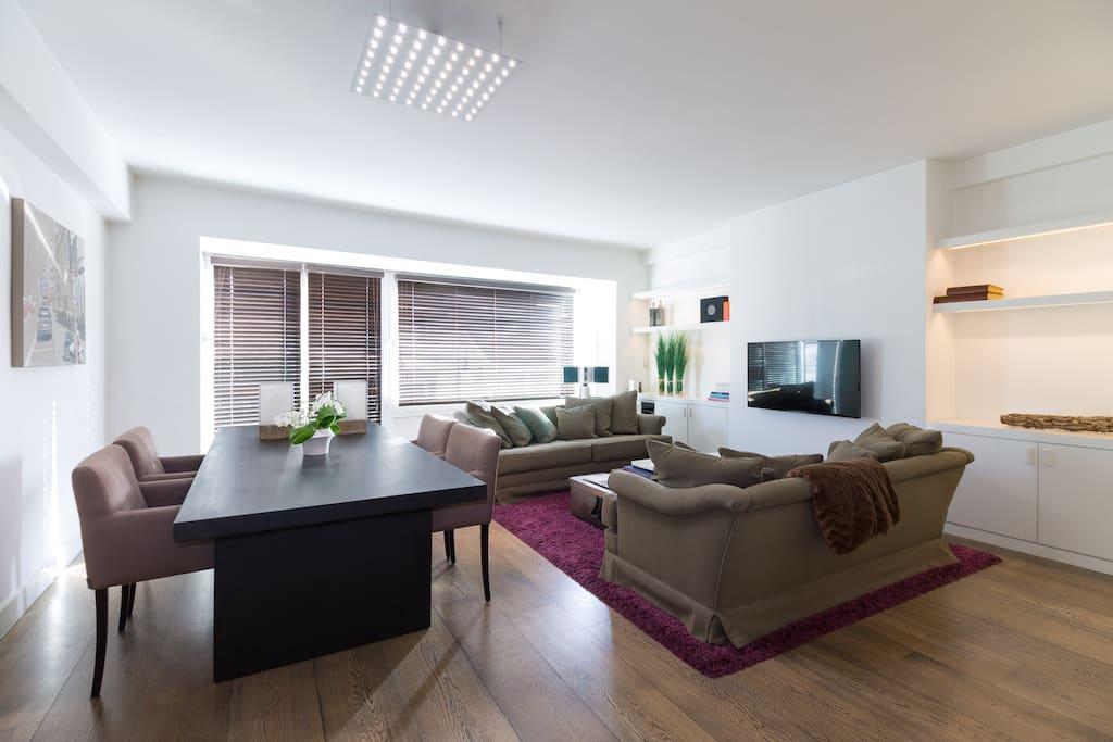 Bel appartement design ensoleill standing wohnungen - Appartement de standing burgos design ...