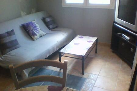 F2 gris/mauve, avec terrasse couverte  parking (D) - COMPREIGNAC - Daire