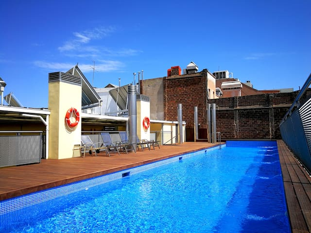 Our swimming pool! Enjoy!