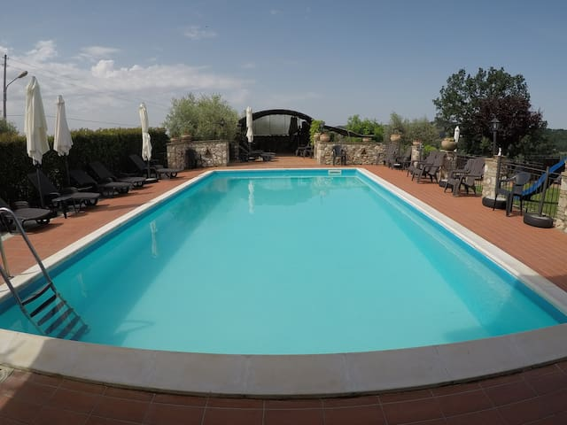 Apartment near Narni   with pool - Umbria