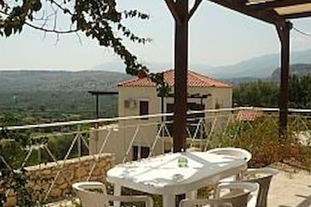 Stillos Villa for Sun sand beach Pool Relaxation - Stilos - House - 1