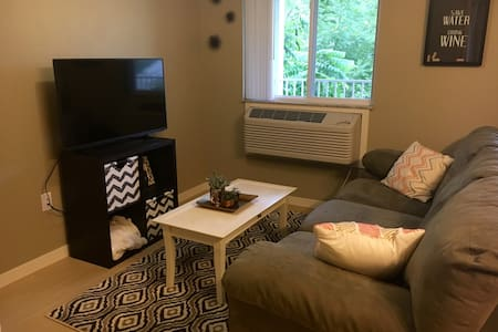 Private apartment 7 mins from downtown IC! - Coralville - Lakás