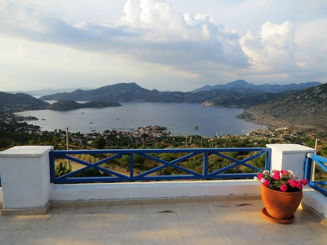 Wonderful Villa Panorama in Selimiye, Marmaris - Selimiye Köyü - Villa