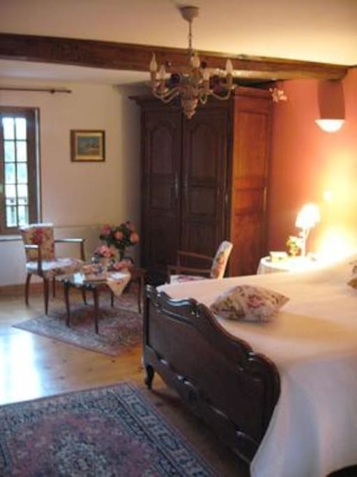 Chambre Rose for 3 people