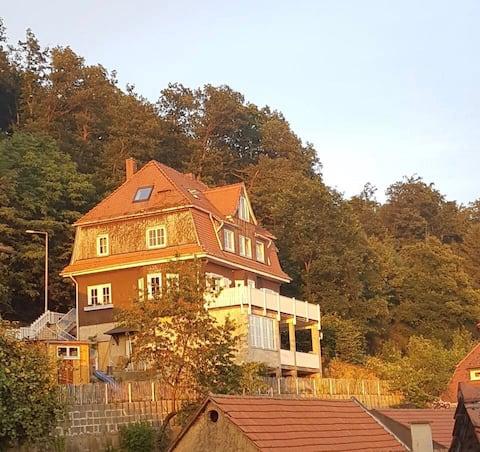 Waldheim Lindenfels (mit Sauna)