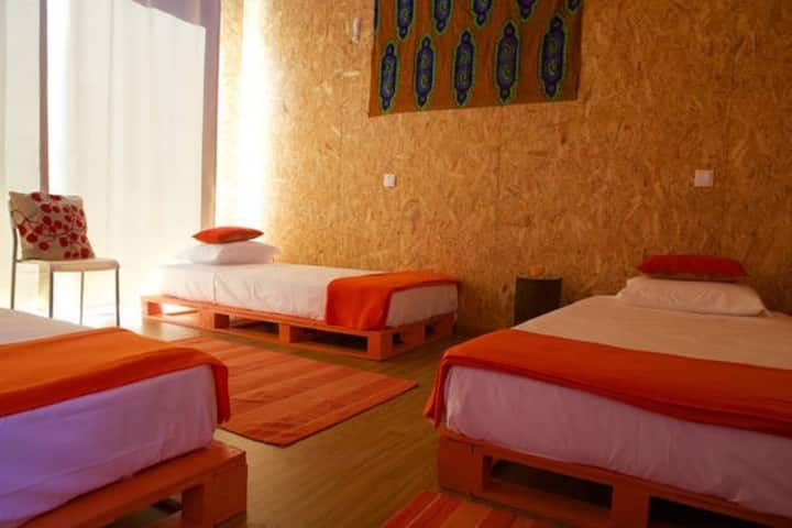 Biovilla - Orange Room (Dormitory)
