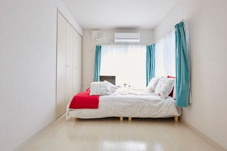 WALKING DISTANCE TO JR SHINJUKU/MAX 4PPL/MAX 3BED - Shinjuku-ku - Huoneisto
