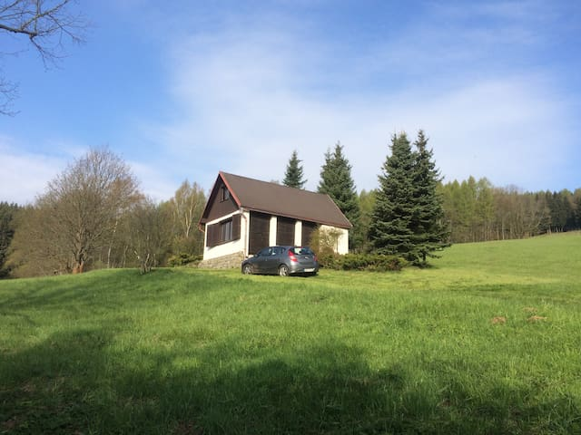Small cottage in Krenov close to Adrspach Rocks