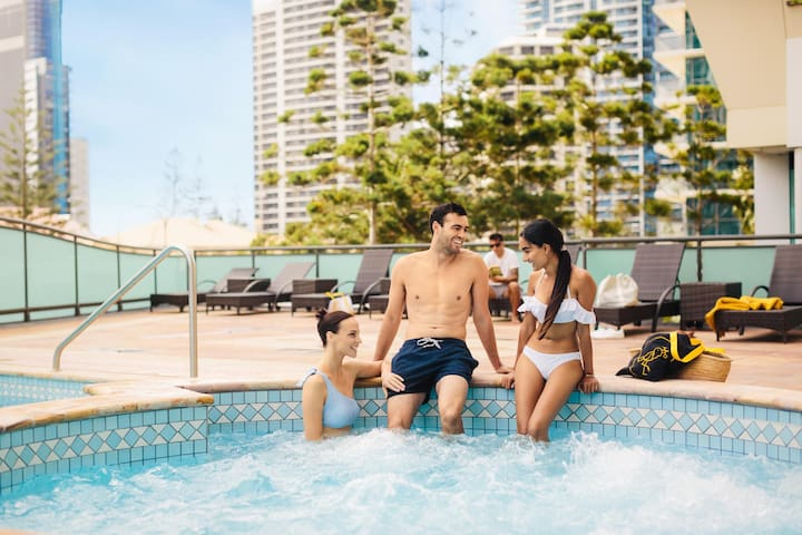 Comfy Double Or Twin Superior At Surfers Paradise