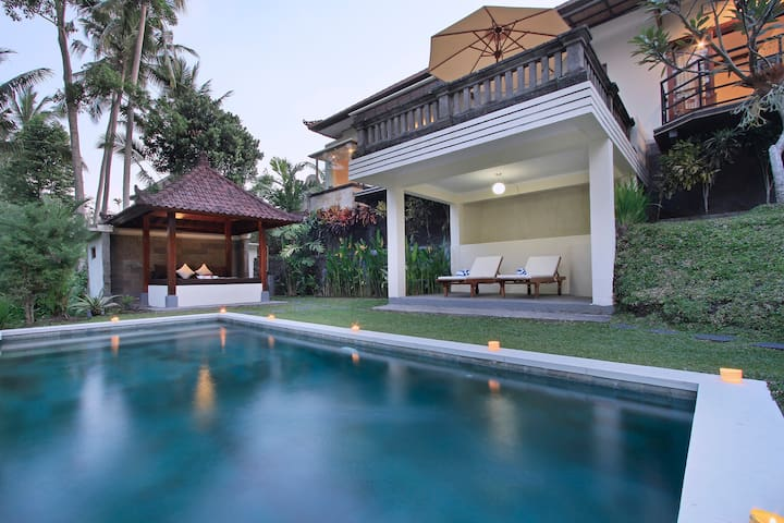 One Bedroom Villa with Rice Field and Jungle View - Ubud - Villa