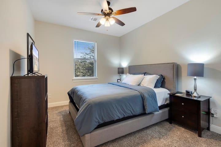 Lake Travis Bedroom.