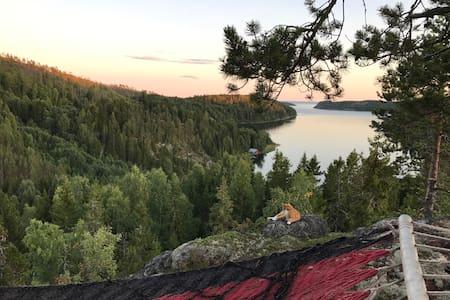 Genuint havsnära drömboende i Höga kusten