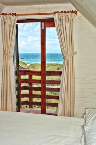 Upstairs bedroom view
