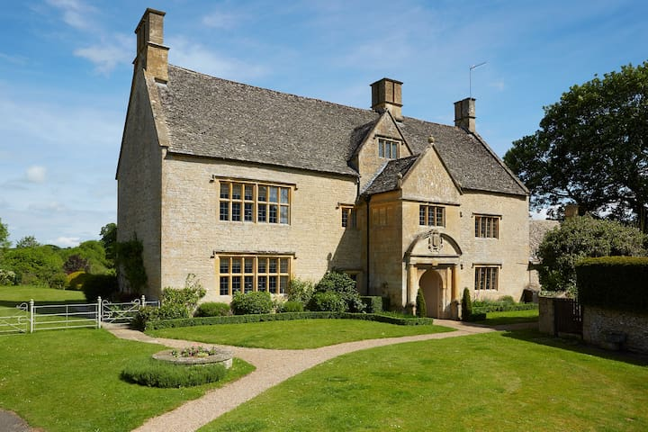 Beautiful Cotswold Manor House