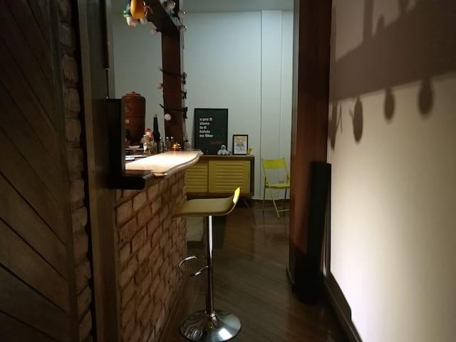 MEGA suíte com hidro no coração de Santê - Rio de Janeiro - Appartement