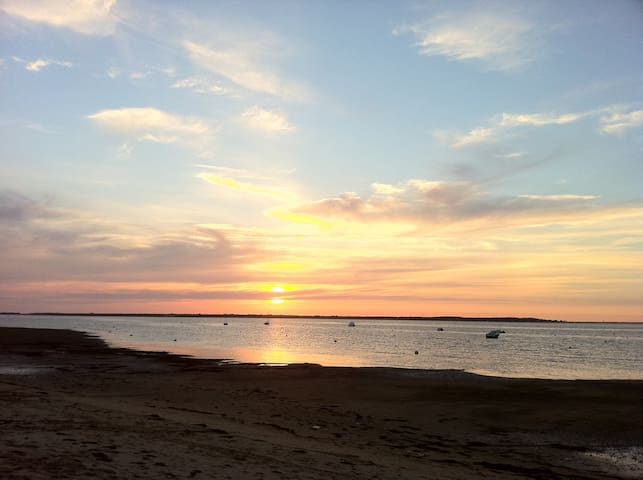Gîte 2-4pers. à 50m petite plage face à Oléron