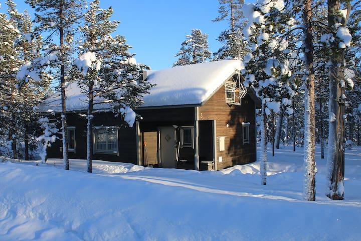 Lapland Cottage 94m2/ 68m2 Kiilopää, Ivalo