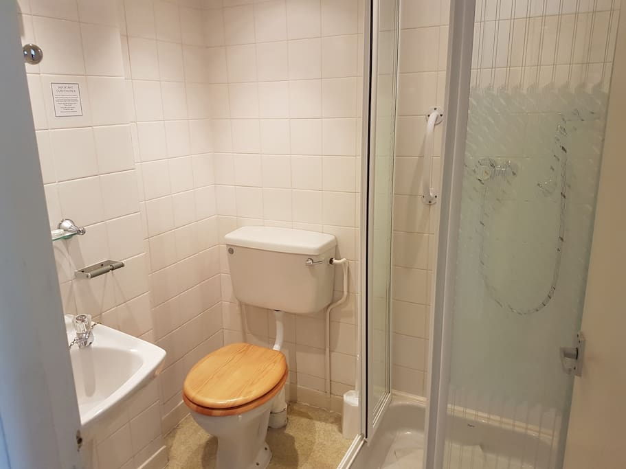some showers are easy access and all our rooms include towels and toiletries