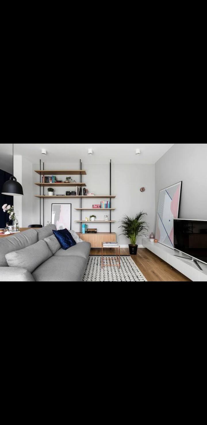 Casa muy cómoda y confortable, excelente lugar