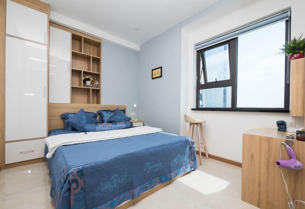 Bedroom 1 with Oceanfront View