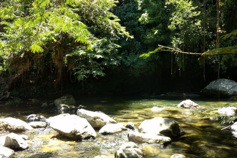 Casa ubicada a 7 minutos caminando del hermoso río Churimo.