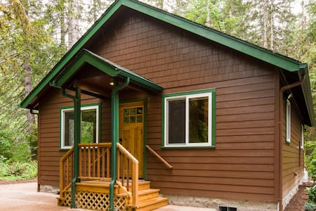 "New ""quaint"" McKenzie Riverfront Cabin - Lane County"