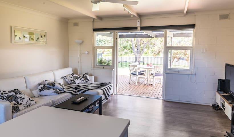 Open Plan Living Area (Lounge/Deck)