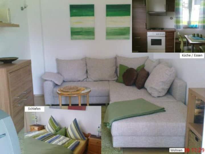 Haus Schnitzler, (Wasserburg (Bodensee)), Ferienhäuschen, 38 qm, 1 Schlafzimmer, max. 3 Personen