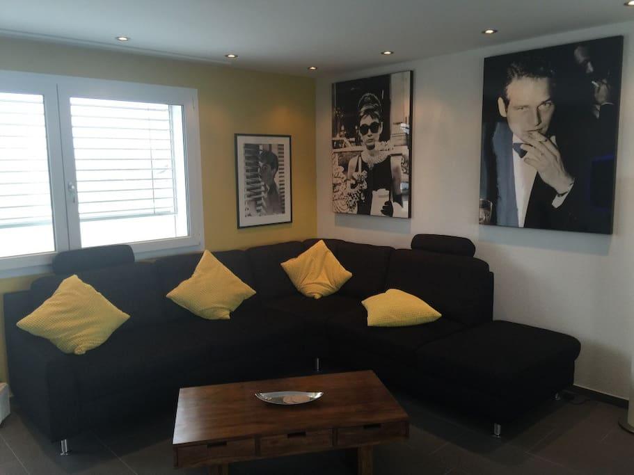 zimmer in sch ner attika wohnung flats for rent in merenschwand aargau switzerland. Black Bedroom Furniture Sets. Home Design Ideas