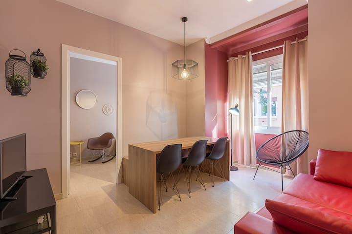 PLAZA ESPAÑA - 3 bedroom apartment - Barcelona - Pis
