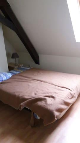 Chambre lit double hyper centre - Bourges - Byt
