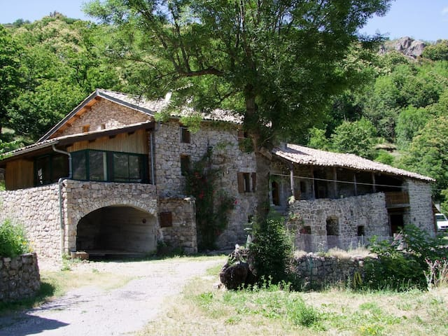La ferme du Chey - Mayres - Casa