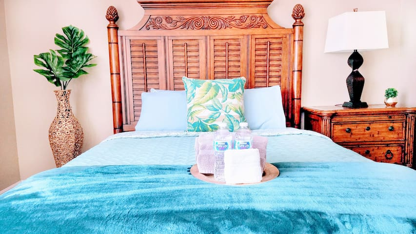 ⚕✔SANITIZED ✔Private room and bathroom in 2BD/2A