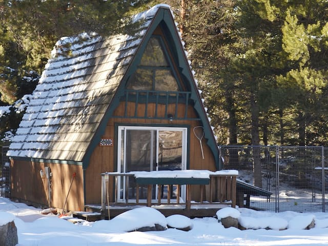 Cozy cottage at Big Sky, MT    The A-Frame