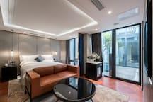 北京景里高端四合院,后海、南锣鼓巷商圈 白露豪华大床房
